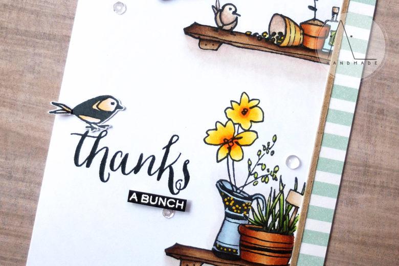 AL handmade - Garden Thanks