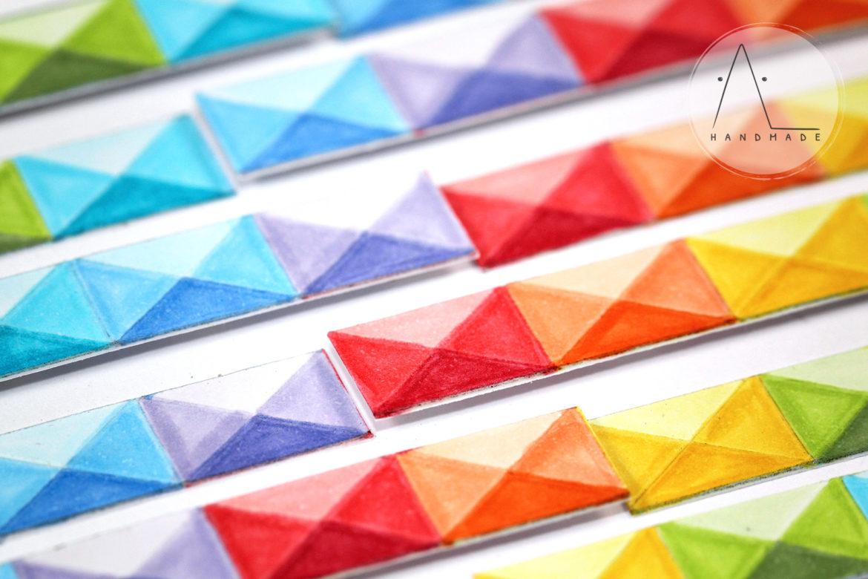 AL handmade - Shaded Geometric Pattern