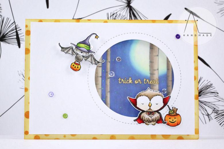 AL handmade - Moonlight Halloween Shadows