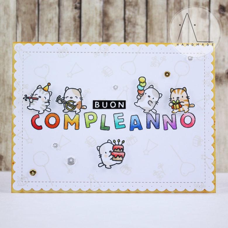 AL handmade - Purr-fect birthday wishes
