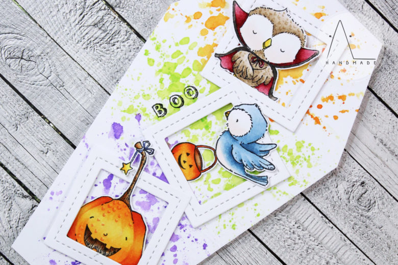 AL handmade - Spook-tacular Halloween Greetings