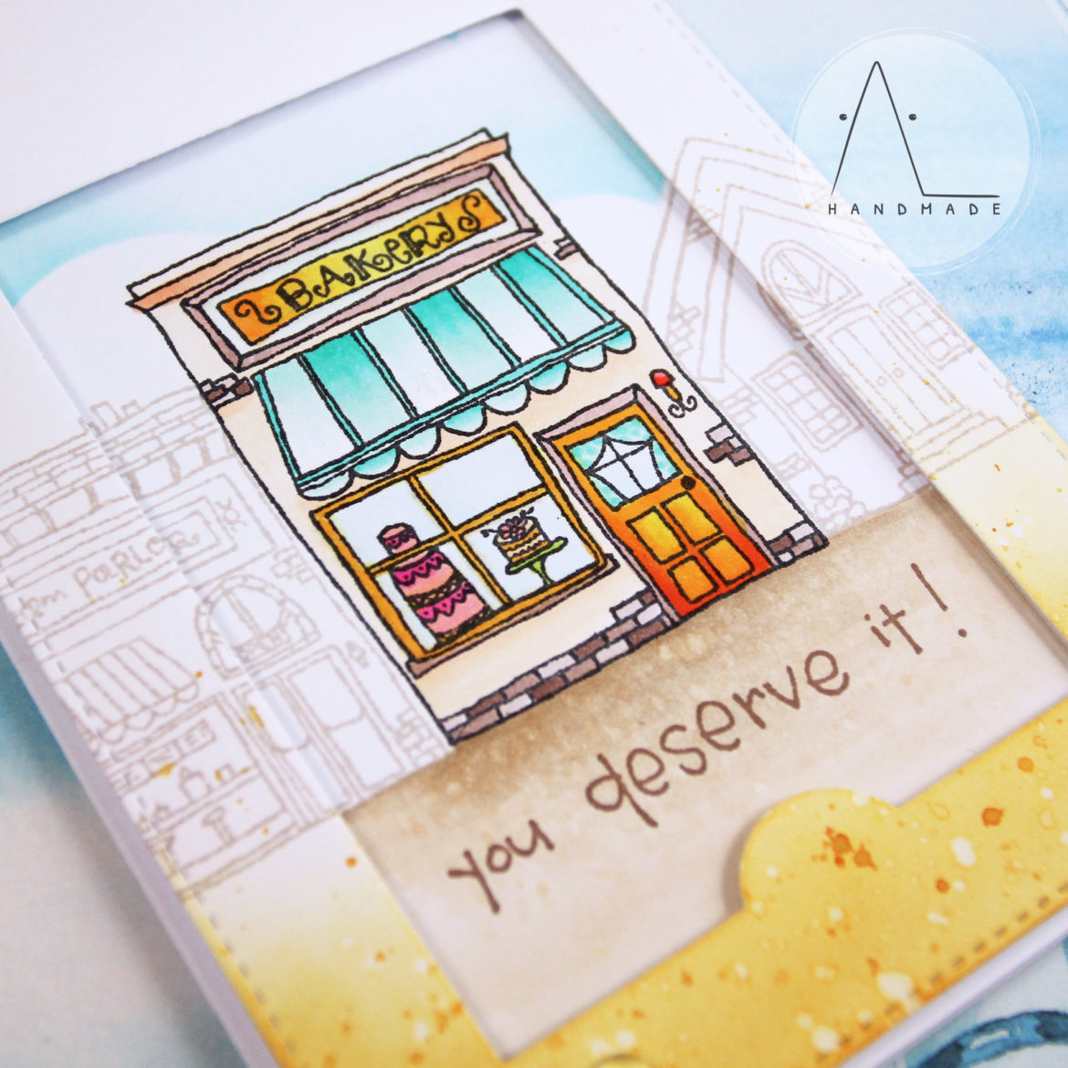 AL handmade - Sweet Interactive Card
