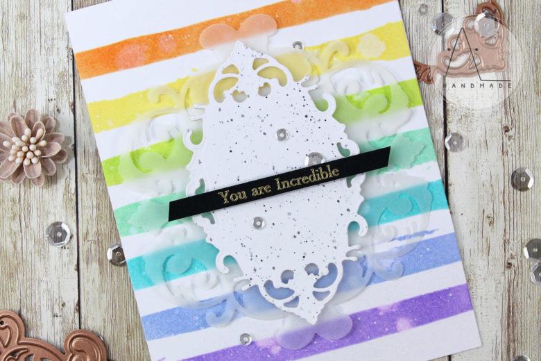 AL handmade - Spellbinders - You Are incredible