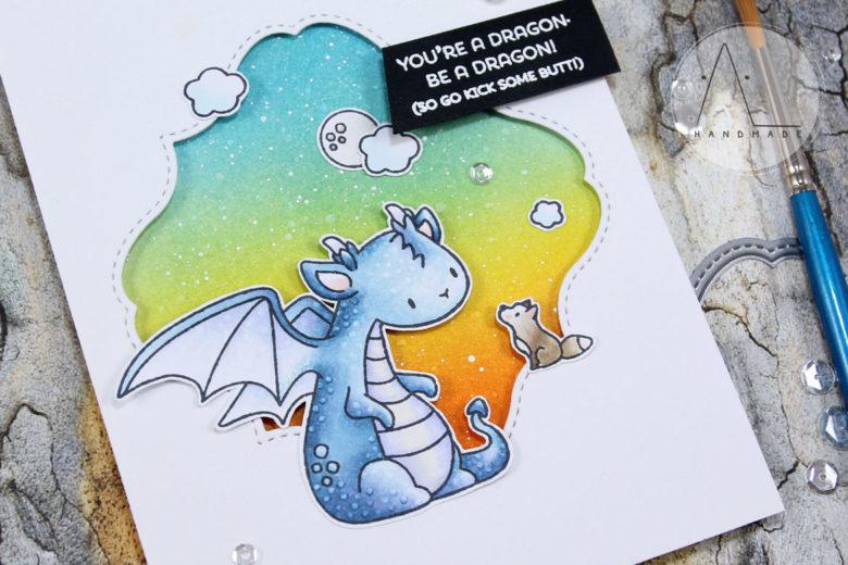 AL handmade - Mama Elephant - Me and my Dragon