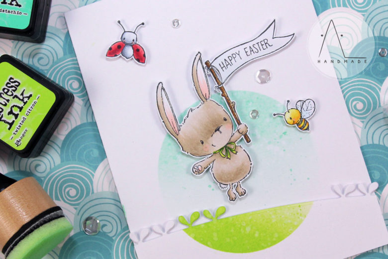AL handmade - Puple Onion Designs - Happy Easter with Ivy, Honey and Little Lady