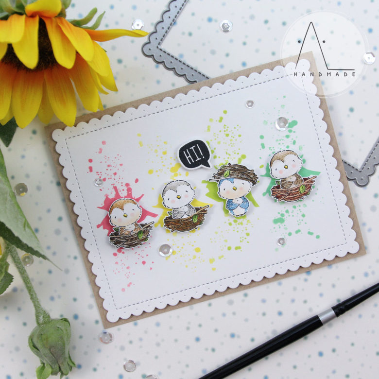 AL handmade - Purple Onion Designs - Spread Kindness Collection with Gracie & Nest