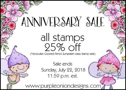 Purple Onion Designs - Anniversary Sale - Summer 2018