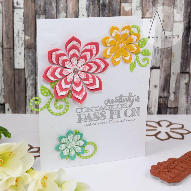 AL handmade - Spellbinders - Blooming Flowers