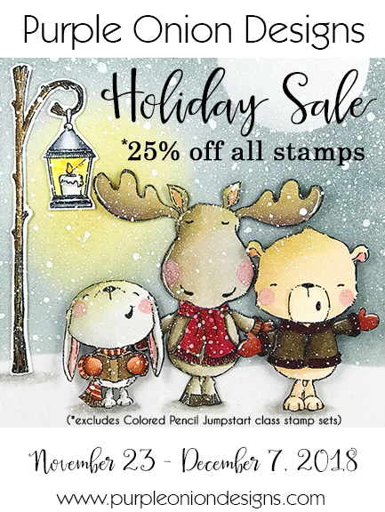 Purple Onion Designs - Holiday Sale 2018
