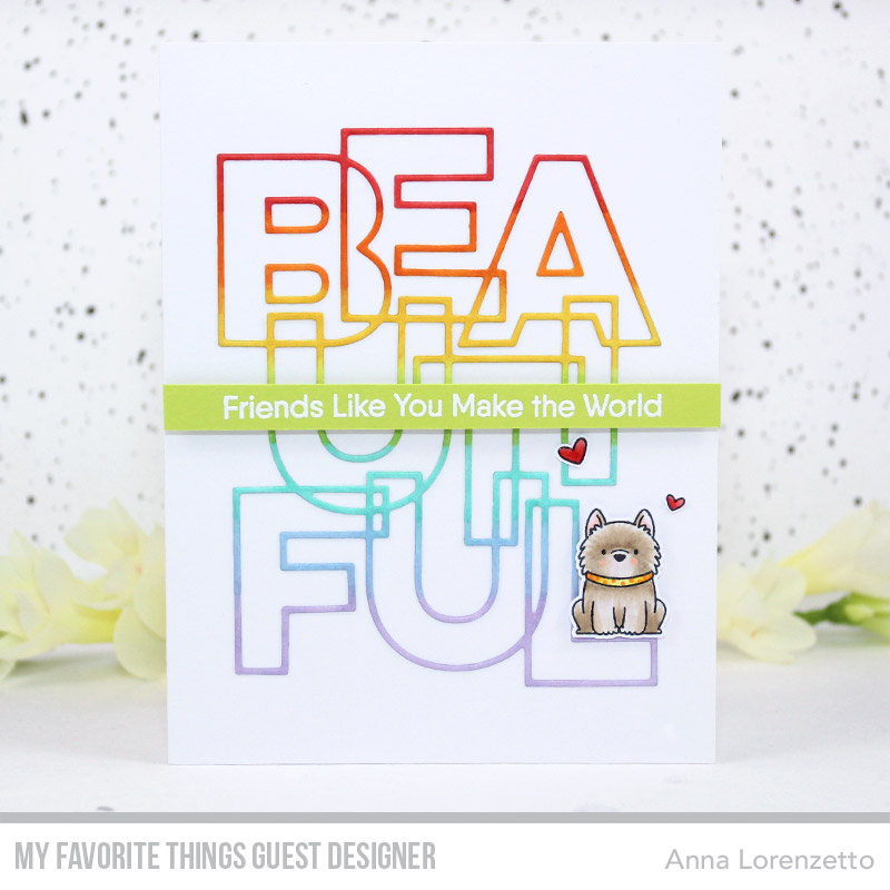 AL handmade - My Favorite Things Guest Designer - Bold Beautiful