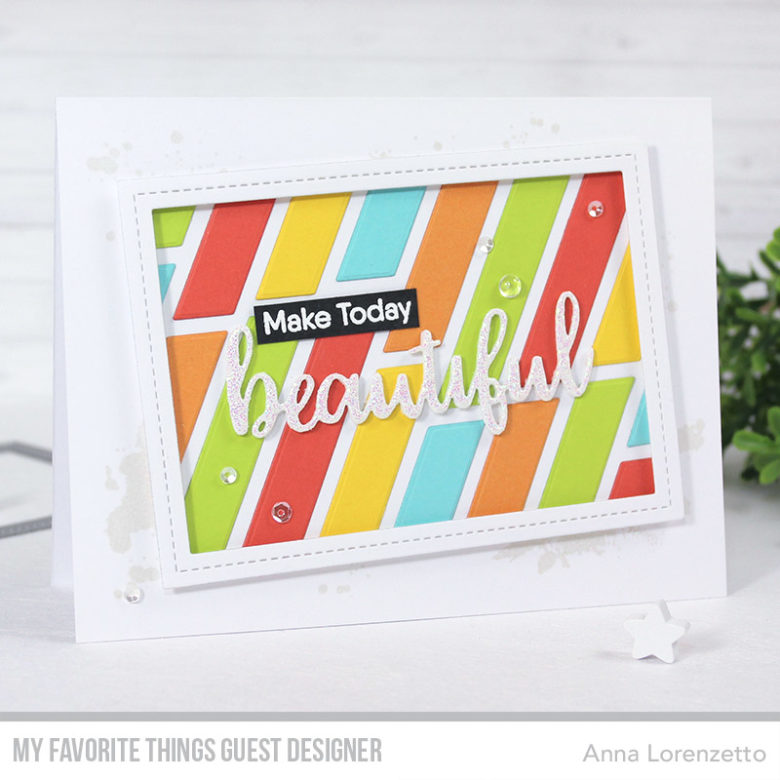 AL handmade - My Favorite Things Guest Designer - Hello Beautiful
