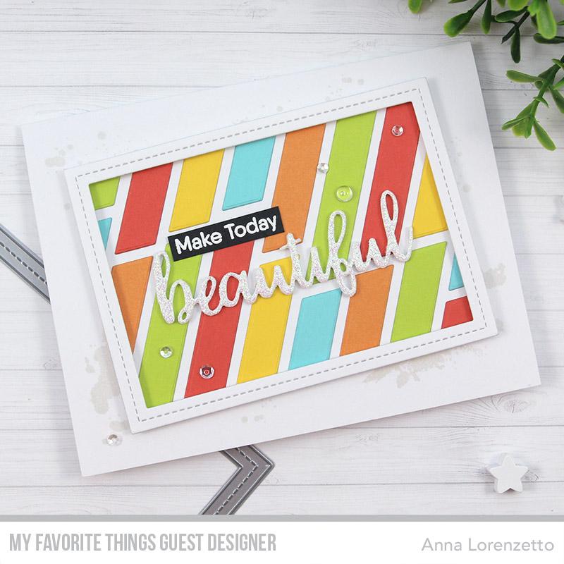 AL handmade - My Favorite Things Guest Designer - Hello Beautiful