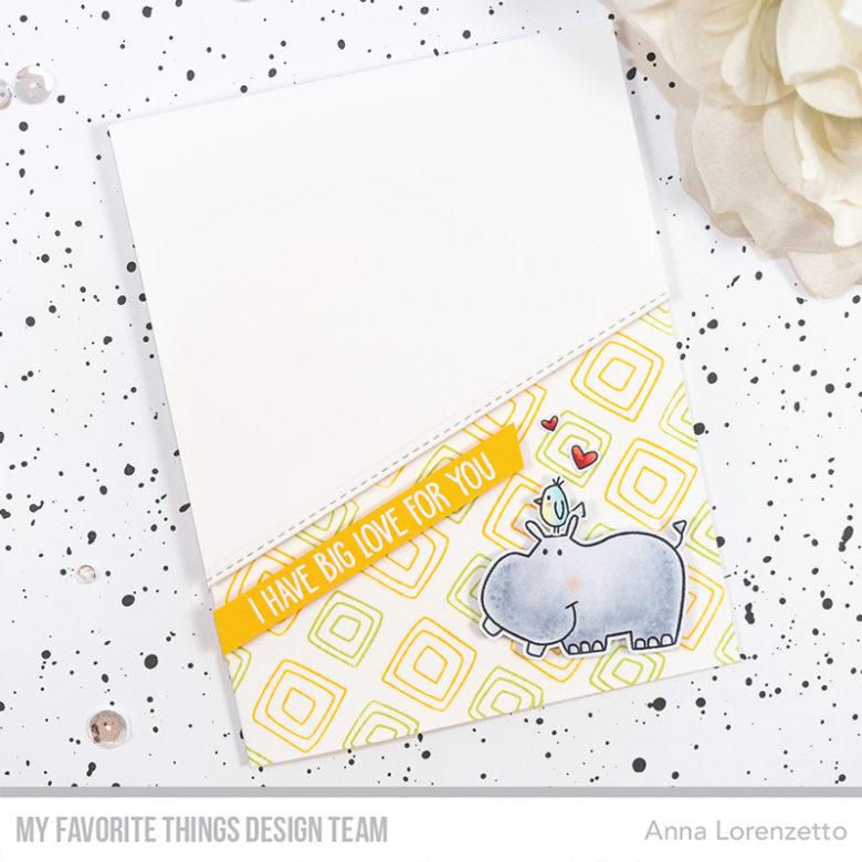 AL handmade - My Favorite Things DT - WSC 426 - Safari Friends stamp set