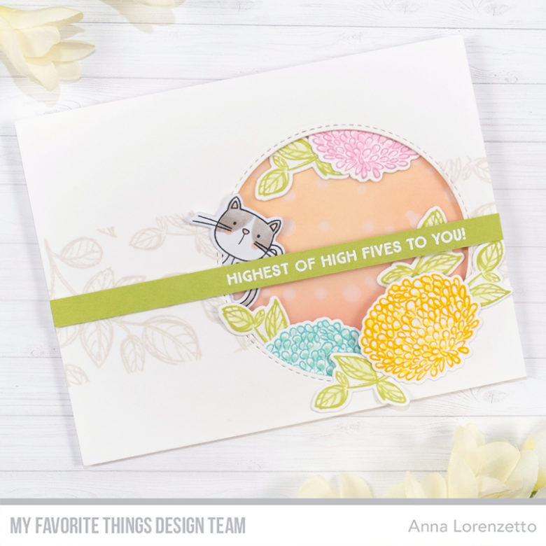 AL handmade - My Favorite Things DT - Painted Petals stamp set