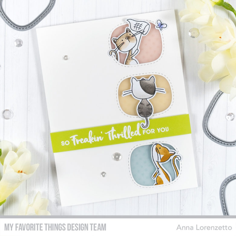 AL handmade - My Favorite Things DT - WSC 428 - Purrfect Friends stamp set