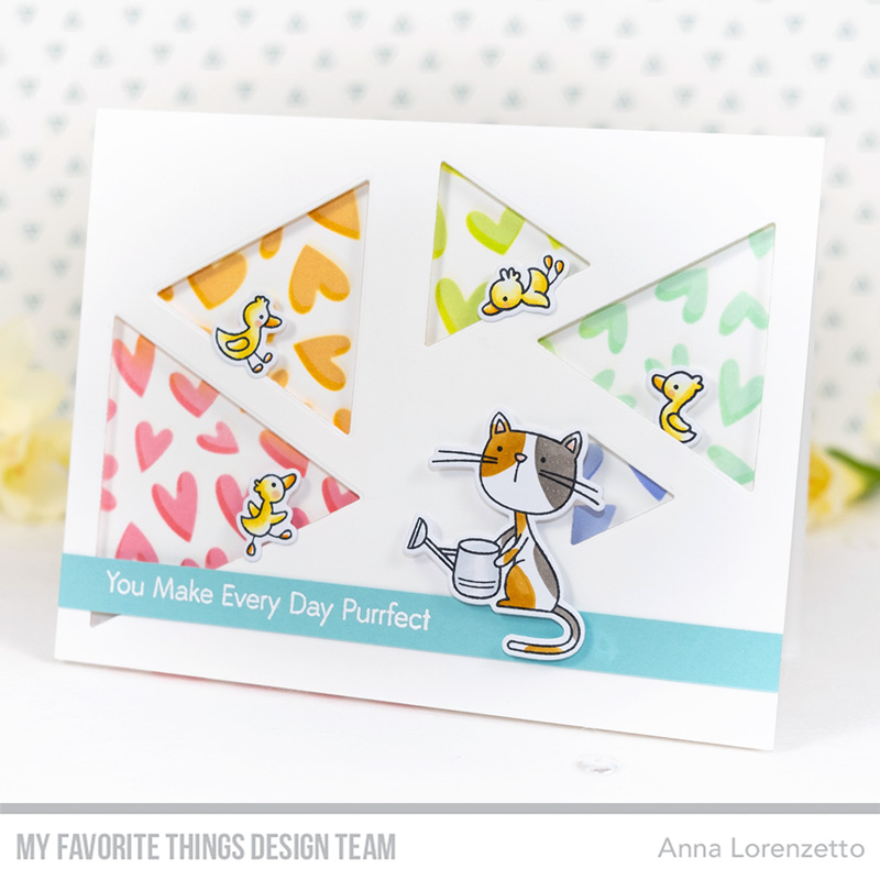 AL handmade - My Favorite Things DT - WSC 429 - Purrfect Friends stamp set