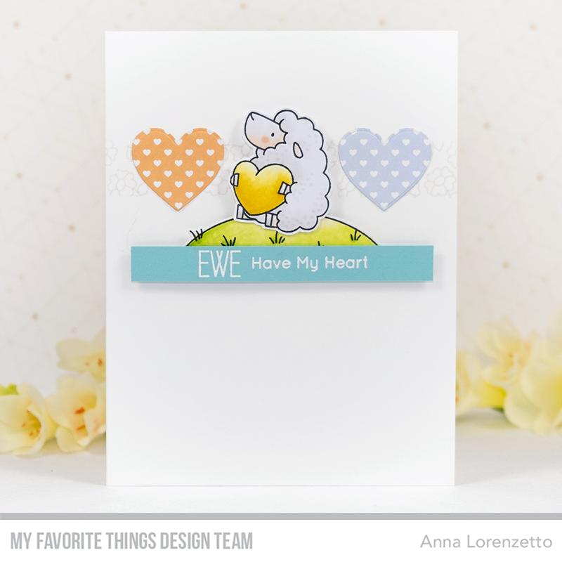 AL handmade - My Favorite Things DT - WSC 430 - BB Ewe Are the Best stamp set
