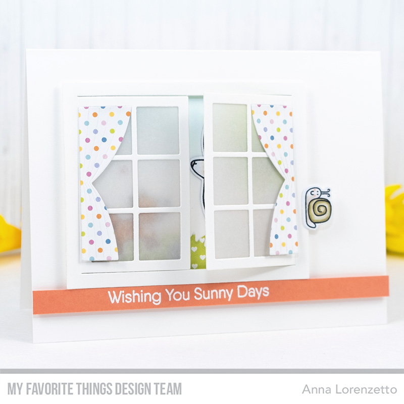 AL handmade - My Favorite Things DT - Sweet Spring Friends and Window Die-namics