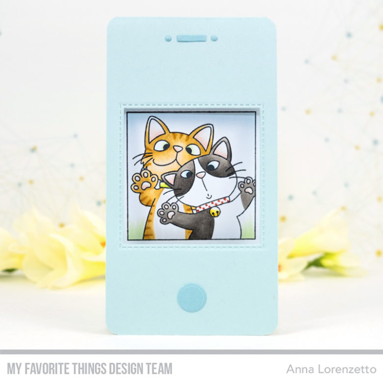 AL handmade - My Favorite Things DT - BB Picture Perfect and Selfie Square Die-namics