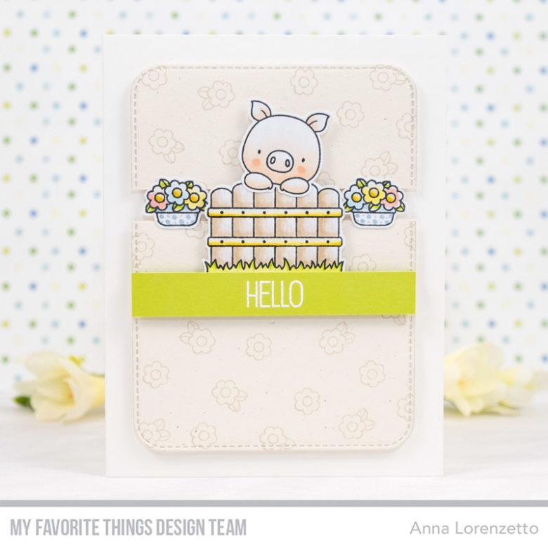 AL handmade - My Favorite Things DT - WSC 435 - BB Hog Heaven stamp set