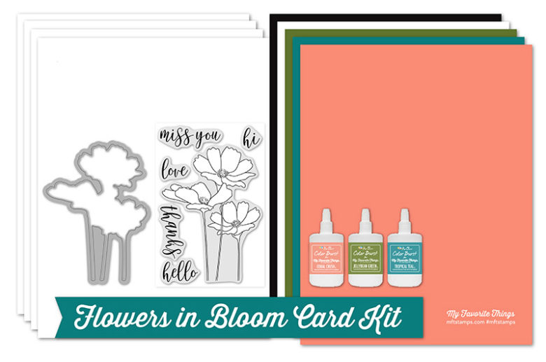 MFT Flowers in Bloom Card Kit Products