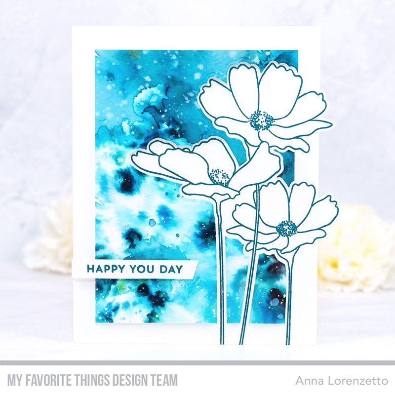 AL handmade - My Favorite Things DT - Flowers in Bloom Card Kit