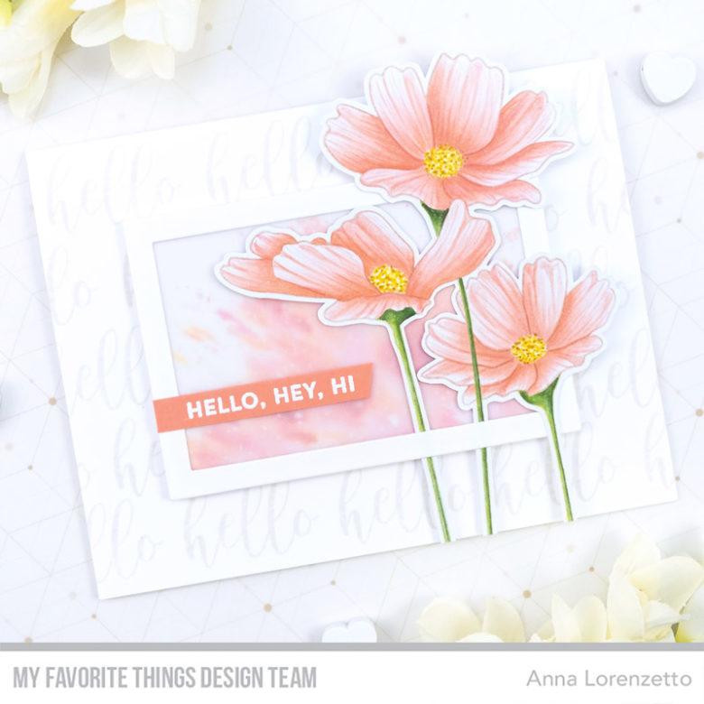 AL handmade - My Favorite Things DT - Flowers in Bloom Card Kit