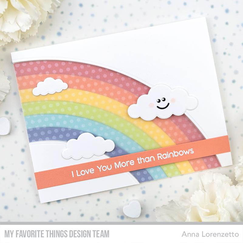 AL handmade - My Favorite Things DT - Rainbow Bright Die-namics