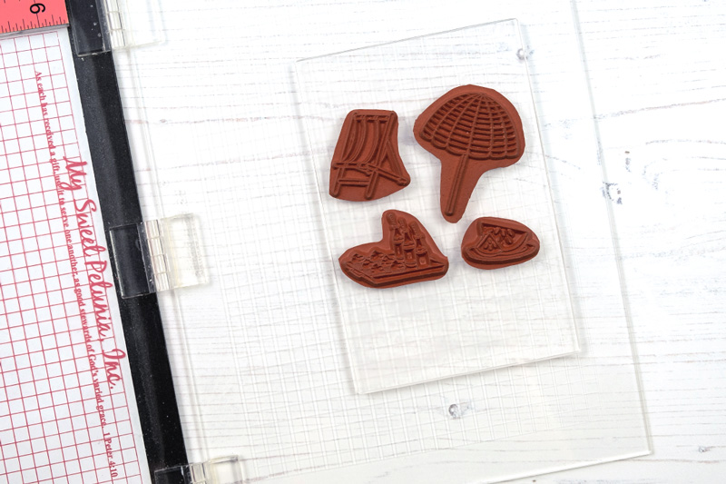 AL handmade - Purple Onion Designs - Solid Clear Stamps Tips