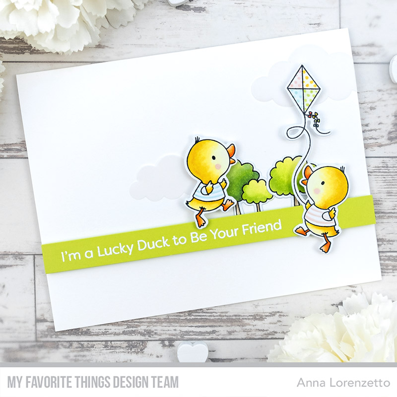 AL handmade - My Favorite Things DT - WSC 445 - Just Ducky stamp set and Die-namics