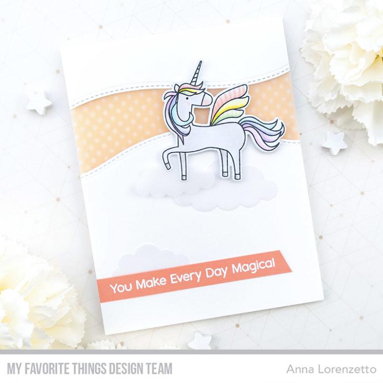 AL handmade - My Favorite Things DT - WSC 447 - Fairy-Tale Friends stamp set and Die-namics