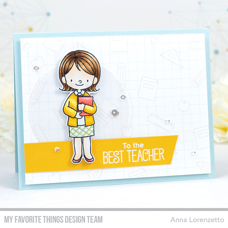 AL handmade - My Favorite Things DT - BB Lessons in Love and BB Favorite Teacher