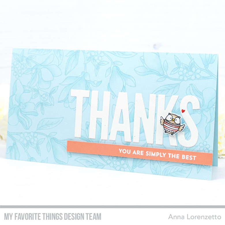 AL handmade - My Favorite Things DT - Floral Focus and Bitty Thanks & Gratitude