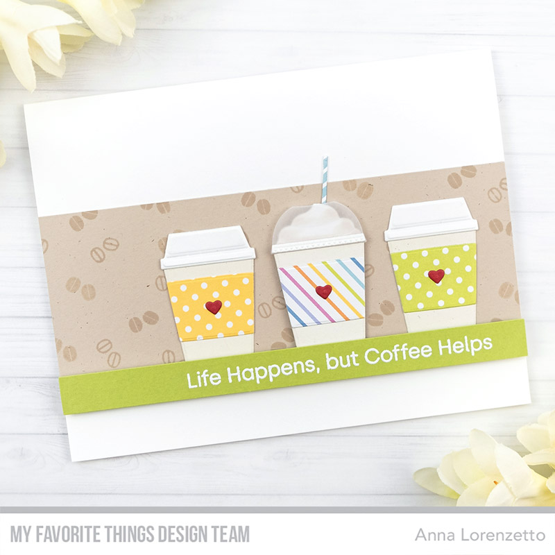 AL handmade - My Favorite Things DT - Mini Café All Day Die-namics