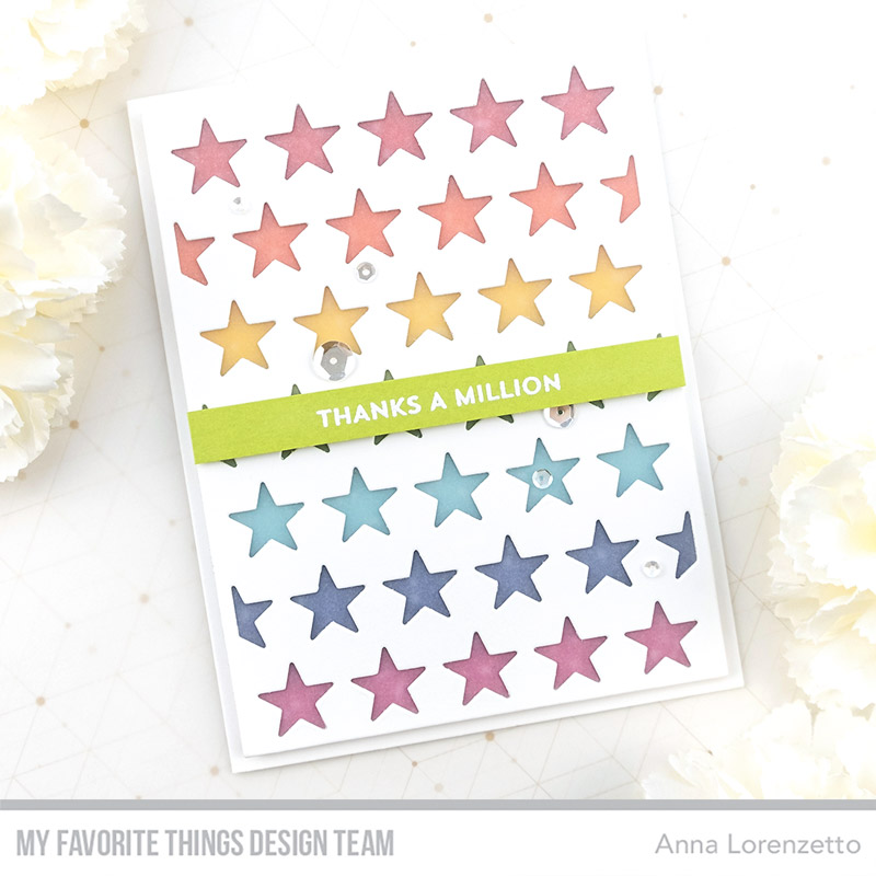 AL handmade - My Favorite Things DT - All the Stars Cover-Up Die-namics