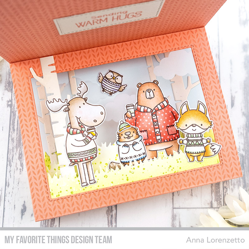 AL handmade - My Favorite Things DT - BB Sweater Weather in the Woods stamp set and Die-namics