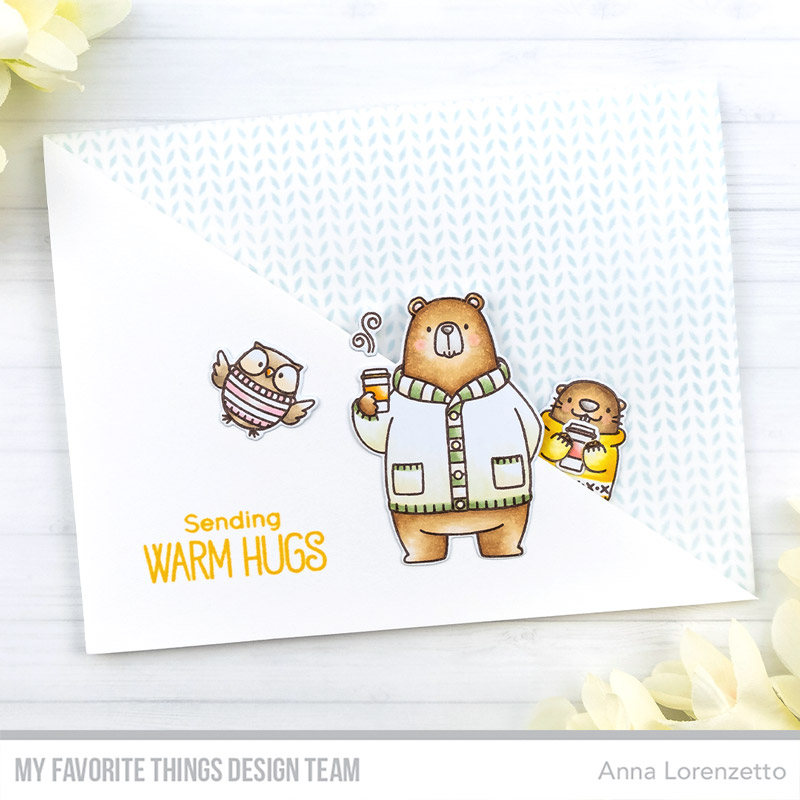 AL handmade - My Favorite Things DT - BB Sweater Weather in the Woods stamp set