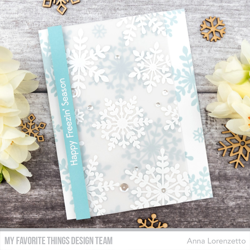AL handmade - My Favorite Things DT - Serene Snowflakes stamp set