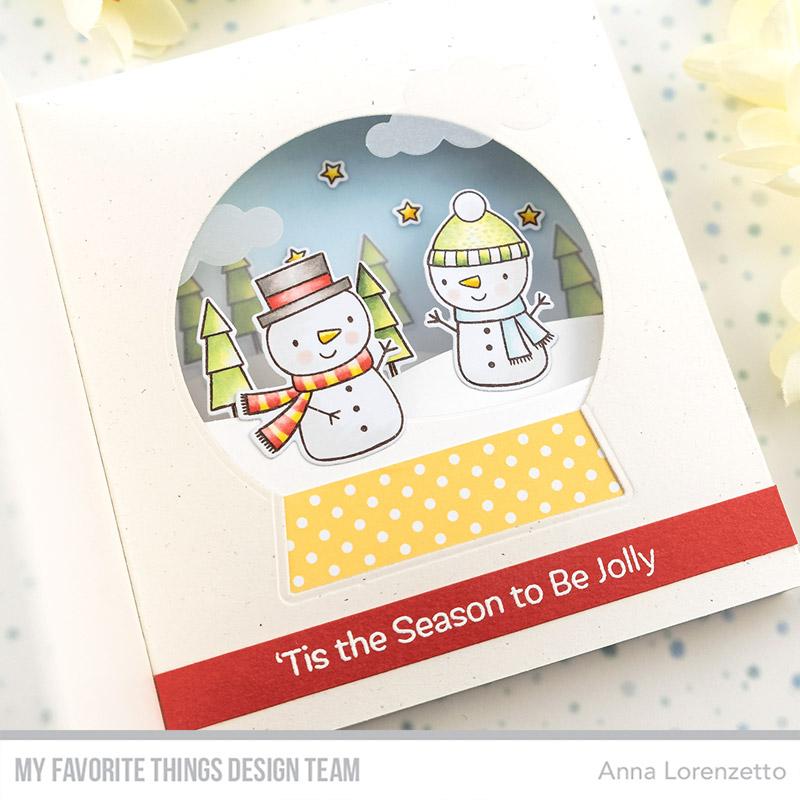 AL handmade - My Favorite Things DT - 'Tis the Season stamp set