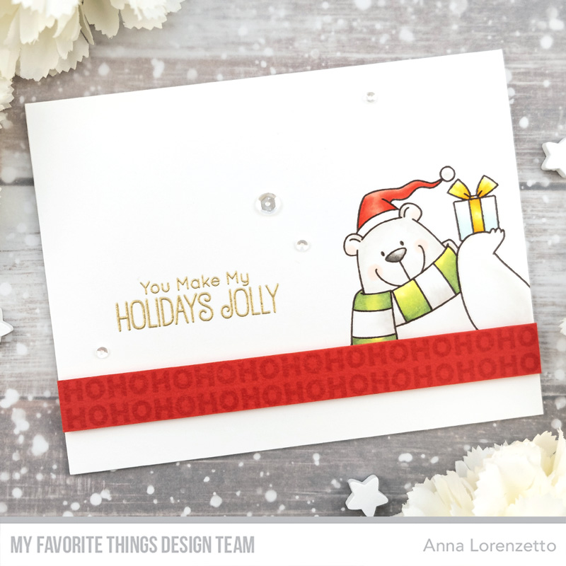 AL handmade - My Favorite Things DT - BB Christmas sELFies stamp set