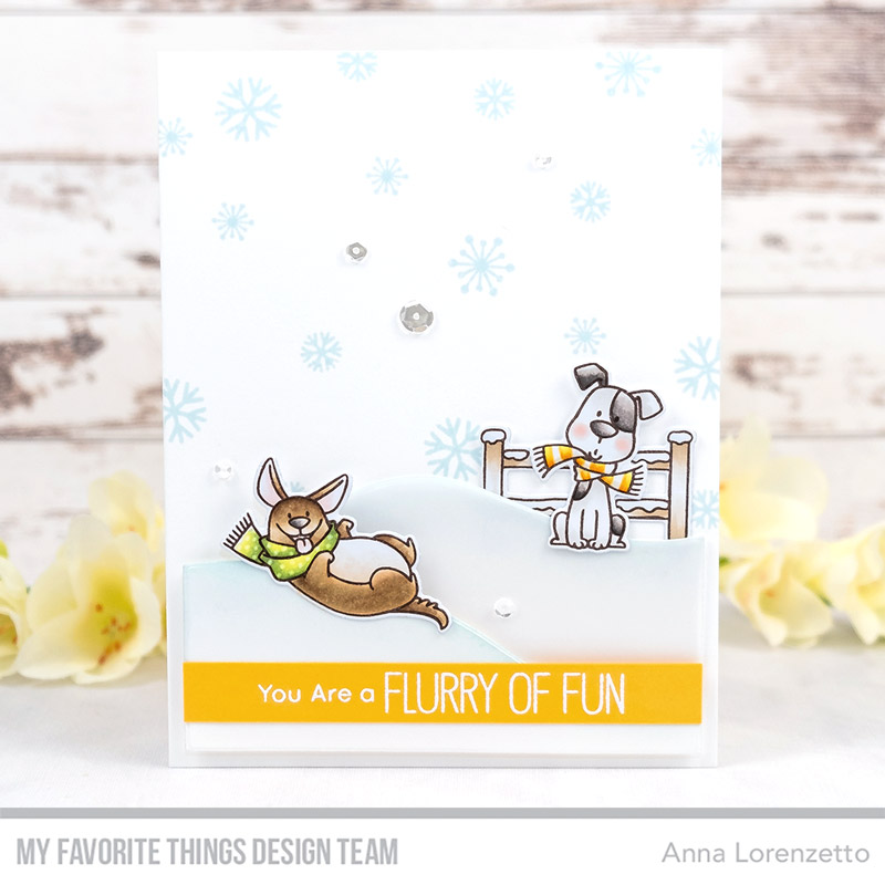 AL handmade - My Favorite Things DT - BB Snow Buddies stamp set and Die-namics