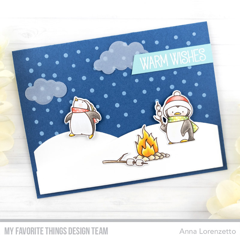 AL handmade - My Favorite Things DT - BB Toasty Greetings stamp set