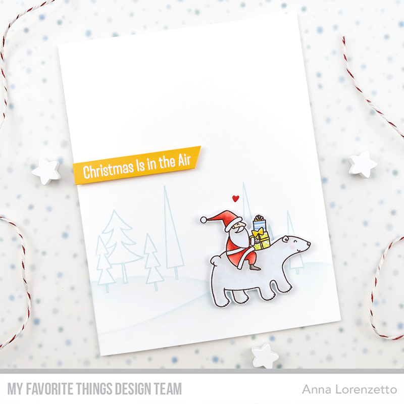 AL handmade - My Favorite Things DT - WSC 460 - Merry Moments stamp set