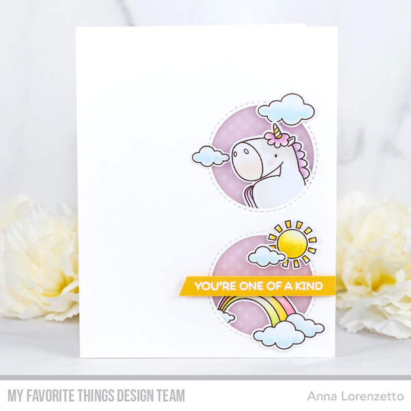 AL handmade - My Favorite Things DT - WSC 461 - BB Magical Unicorns stamp set