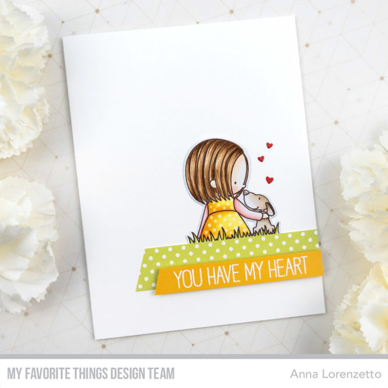 AL handmade - My Favorite Things DT - BB You Have My Heart stamp set and Die-namics