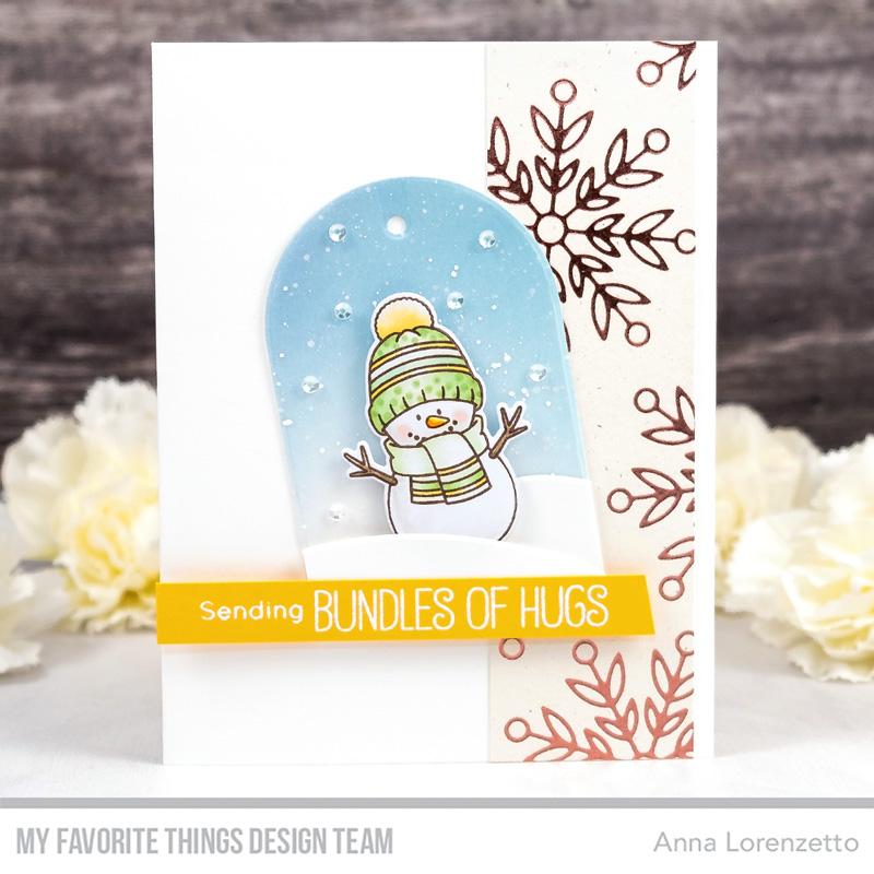 AL handmade - My Favorite Things DT - WSC 465 - BB Snow Buddies