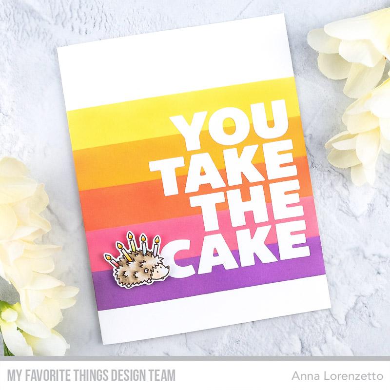 AL handmade - My Favorite Things DT - You Take the Cake Die-namics