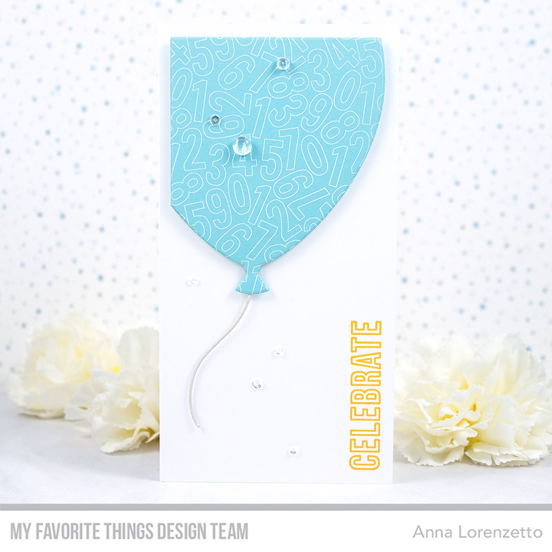 AL handmade - My Favorite Things DT - Perfect-Fit Balloon Die-namics