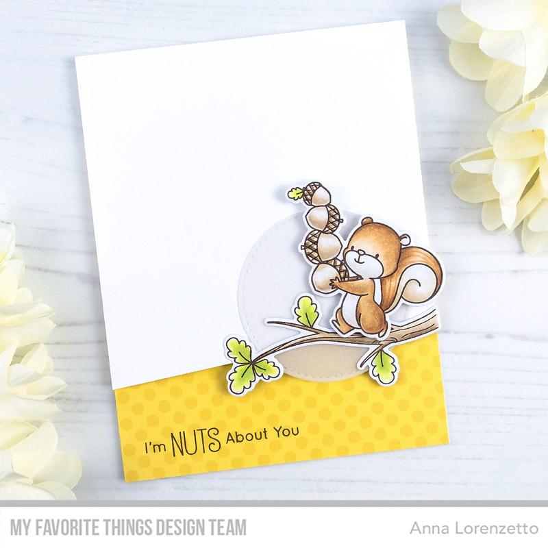 AL handmade - My Favorite Things DT - WSC 475 - BB Squirrel!
