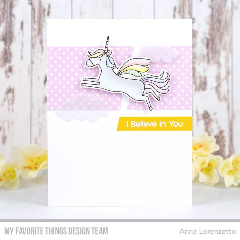 AL handmade - My Favorite Things DT - WSC 476 - Fairy-Tale Friends stamp set